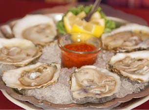 Oysters at Chez Pierre